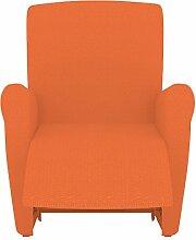 Eiffel Textile Rennes Schutzhülle Sofa Sessel 55 x 195 x 2 cm orange