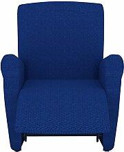 Eiffel Textile Rennes Schutzhülle Sofa Sessel 55 x 195 x 2 cm blau