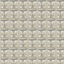 Eijffinger 342040Cayo quadratisch Optik Tapete