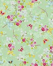 Eijffinger PIP studio Chinese Tapete, rosa, grün