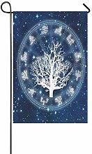 EIJODNL Dekorative Doppelseitige Astrologie mit