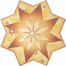 Eilles Adventskalender Weihnachtsstern Gold