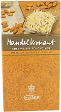 EILLES Weisse Premiumschokolade Mandel Krokant 100