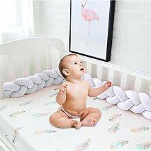 Eillybird Bettumrandung Kinderbett Baby Krippe
