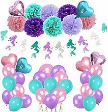 Eillybird Geburtstagsdeko Kindergeburtstag Banner