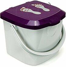 Eimer 15,5 L Windeleimer Hocker Spielzeugbox mit
