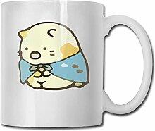 Ein Bär und eine Katze Mode Kaffeetasse Porzellan