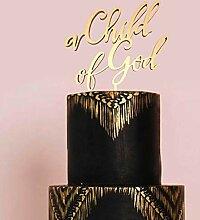 Ein Kind Gottes Cake Topper, Taufe Cake Topper,
