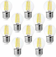 Ein Satz von 10 Stück Glühlampen-LED-Glühlampen