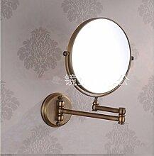 Ein- und ausklappbarer Spiegel Spiegel antike Schönheit Spiegel 6 Zoll