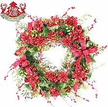 Ein upscale Weihnachten Dekoration Girlanden