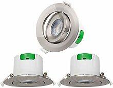 Einbau LED Spots Einbaustrahler Lampen Decke