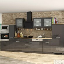 Einbauküche Denny Ebern Designs Farbe: Grau
