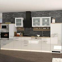 Einbauküche Denny Ebern Designs Farbe: Weiß