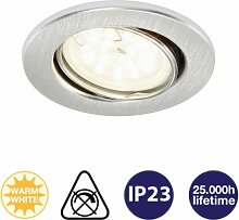 Einbauleuchte Fit LED Einbaulampe Aluminium -