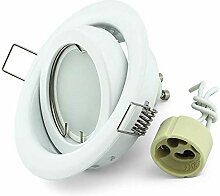 Einbauspot Set LED K-19 Weiss 230V GU10 4W