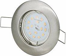Einbaustrahler + 12Volt DC 5Watt 390Lumen LED