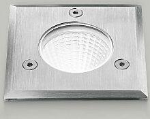 Einbaustrahler aluminiumstahl ges545 led ip65 /
