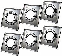 Einbaustrahler aus Glas/Spiegel/Klar CRISTAL Inkl.
