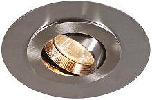 Einbaustrahler EASY Stahl mit extrabreitem Ring