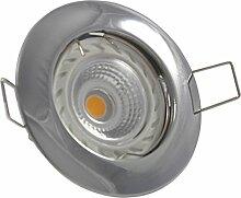Einbaustrahler | Farbe Chrom |230V GU10 7Watt LED