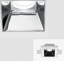 Einbaustrahler gea led gfa641 12x12 chrom moderne