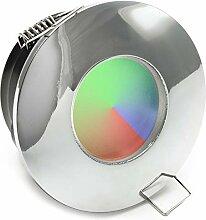 Einbaustrahler IP65 LED Farblichttherapie Dusche