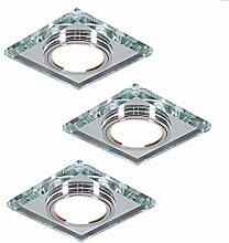 Einbaustrahler LED | 3er Set Einbauleuchte