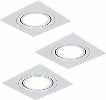 Einbaustrahler LED RGB Farbwechsel | 3er Set