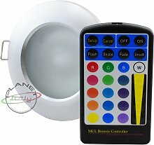 Einbaustrahler LED RGB für Feuchtraum Dusche