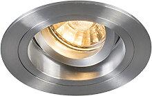 Einbaustrahler rund Aluminium dreh- und neigbar -