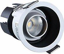Einbaustrahler, schmal, 5 W, LED-Einbaustrahler,