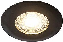 Einbaustrahler schwarz inkl. LED 3-stufig dimmbar