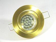 Einbaustrahler Set 20 LED GU10 + Einbaurahmen