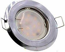 Einbaustrahler, SET: LED Einbauspot Spot Rund