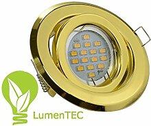Einbaustrahler, SET: LED und Halogen Einbauspot