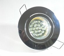 Einbaustrahler Set mit 20 LEDs GU10 Strahler +