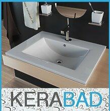 Einbauwaschbecken KBW103 Keramik Waschtisch