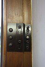 Einbruchschutz für Fenster und Terrassentüren ESB 10 braun zum Nachrüsten