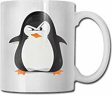 Eine coole Pinguin Mode Kaffeetasse Porzellan