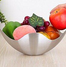 Einen Teller Obst, Süßigkeiten Obstsalat Edelstahl - Korb,B