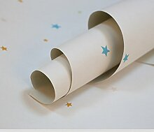 Einfach freundlich Schlafzimmer Normalpapier Tapete niedlichen Cartoon Kinder Zimmer Tapete-B