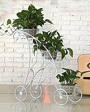 einfach Metall Blumentöpfe Rahmen Eisen Interieur