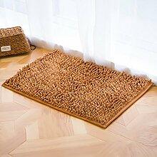 Einfach pure color door saugen mat/badezimmer badezimmer door mat-G 50x80cm(20x31inch)