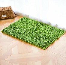 Einfach pure color door saugen mat/badezimmer badezimmer door mat-D 50x80cm(20x31inch)