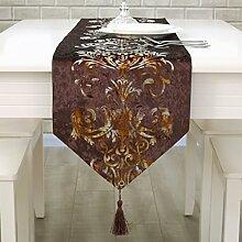 Einfach stilvolle moderne Tischl?ufer/Continental Tischdecken/Tetabellentuch/Bett-banner-A 33x250cm(13x98inch)