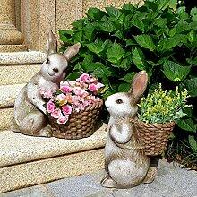 Einfach tierfigur Gartendeko Skulptur Tierfigur