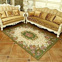 einfach und modern European-Style Teppich/ Haushalt Tür Decke/ Schlafzimmer Teppich/Matten neben dem Bett-B 140x200cm(55x79inch)
