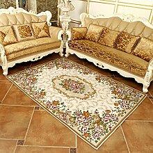 einfach und modern European-Style Teppich/ Haushalt Tür Decke/ Schlafzimmer Teppich/Matten neben dem Bett-D 160x230cm(63x91inch)