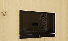 Einfach Vlies Tapeten Modern Längsstreifen 3D Tapete Schlafzimmer im europäischen Stil Wohnzimmer TV Hintergrund Wand, beige, 0.53m*10m